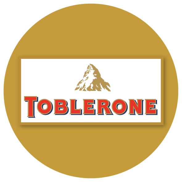 Adventskalender mit Schokolade Toblerone