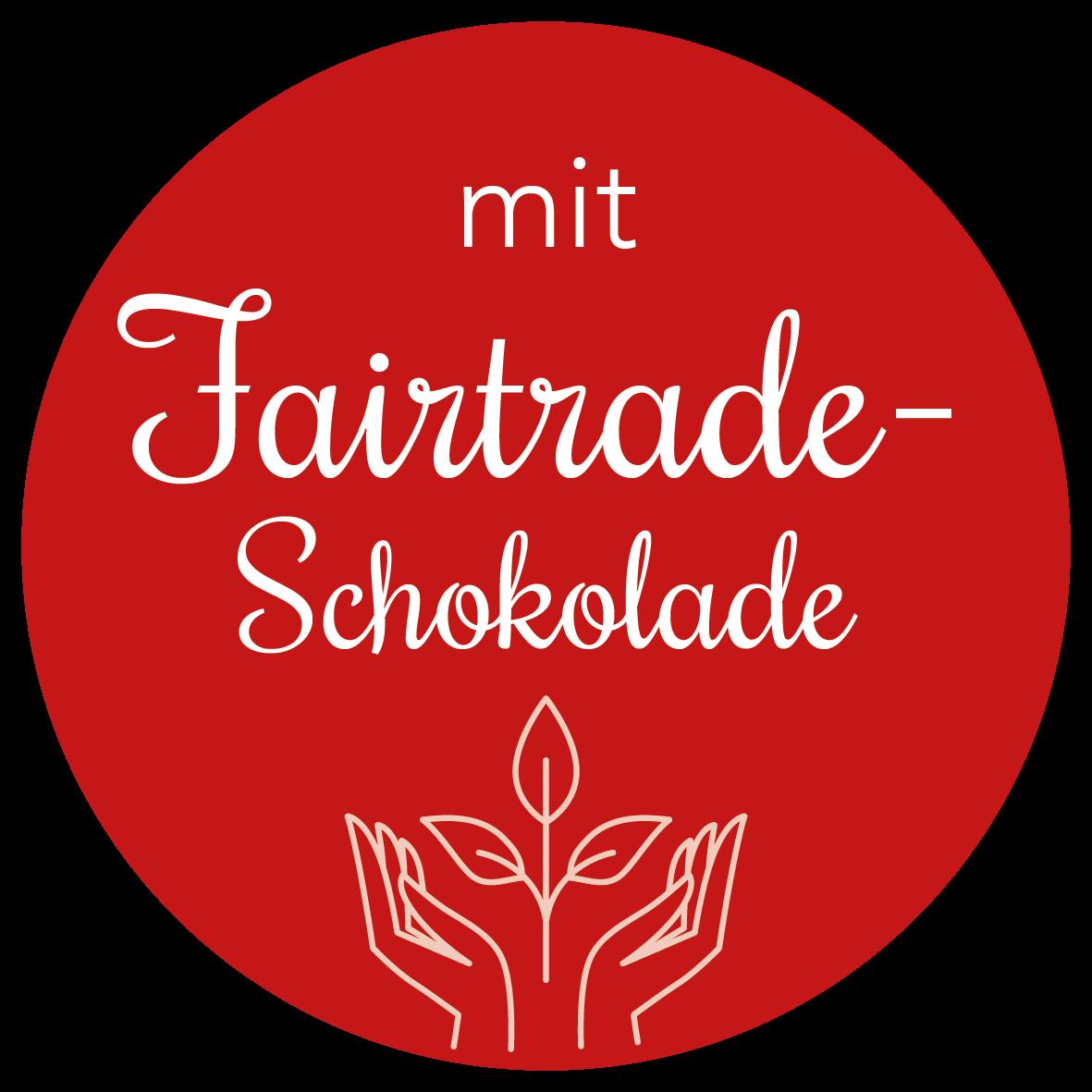 Adventskalender mit Fairtrade-Schokolade