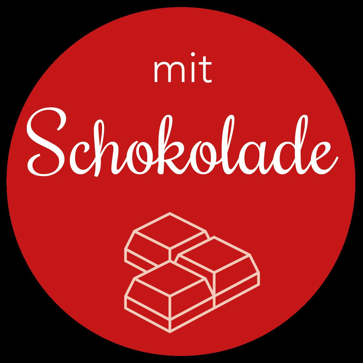 Adventskalender mit Schokolade