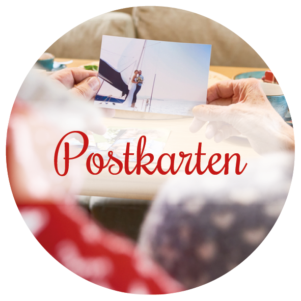 Adventskalender als Postkarten